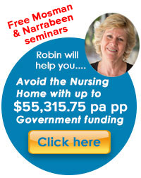 inhome in-home care package packages government funded subsidy nursing 24hr 24 hours hour overnight around-the-clock